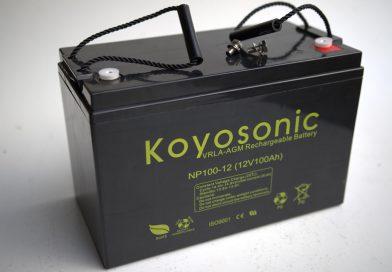 Akumulator NP (AGM) 100Ah – 610 zł.,  80Ah – 550 zł.